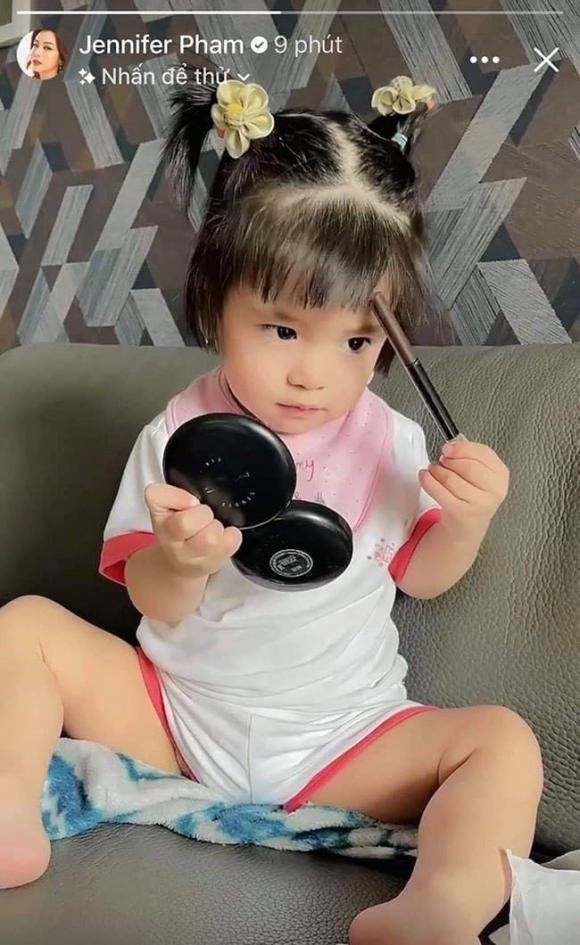 Jennifer Phạm, Hoa hậu Jennifer Phạm, con gái Jennifer Phạm