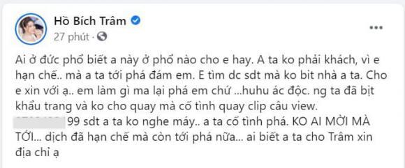 Hồ Bích Trâm, đám cưới Hồ Bích Trâm, sao Việt