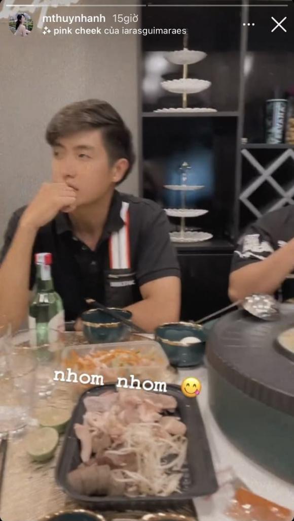 tình cũ của Quang Hải, Huỳnh Anh, thanh niên