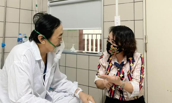 Nghệ sĩ Giang Còi, Bệnh nặng, Sao Việt