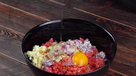 dạy nấu ăn, bắp cải, thịt nhồi bắp cải