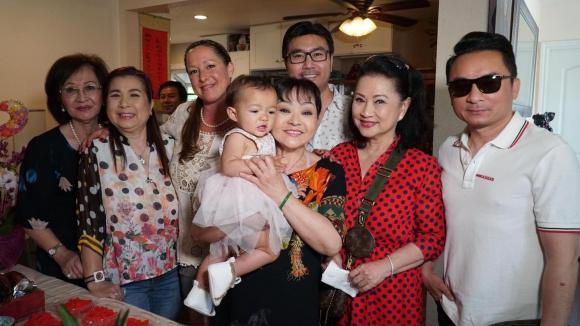 Hương Lan, Hương Lan ở Mỹ, sao Việt