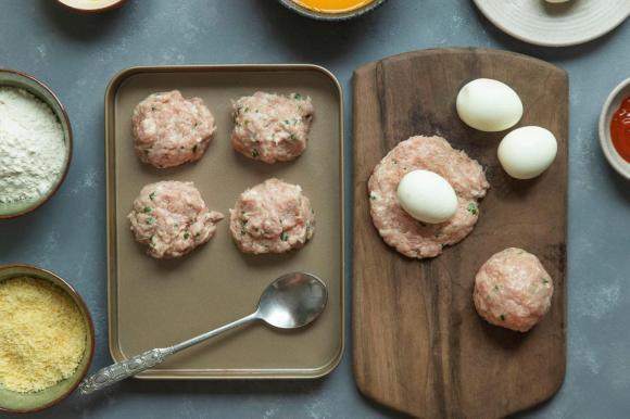 Trứng giã ngoại, các món ngon từ trứng, món ngon