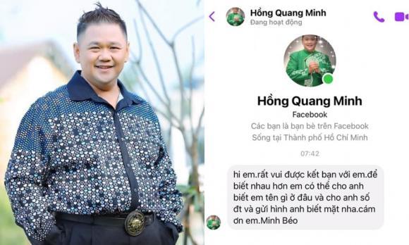 Minh Béo, Nam diễn viên, Gạ tình, Sao Việt
