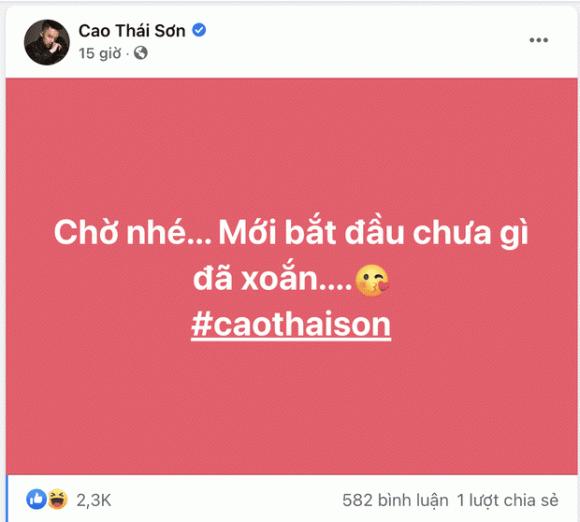 Cao Thái Sơn, Nathan Lee, Nam ca sĩ
