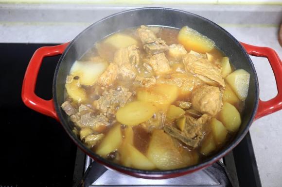 củ cải, món hầm, dạy nấu ăn, mẹo nấu ăn