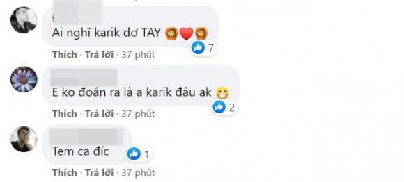 Miu Lê, Karik, sao Việt