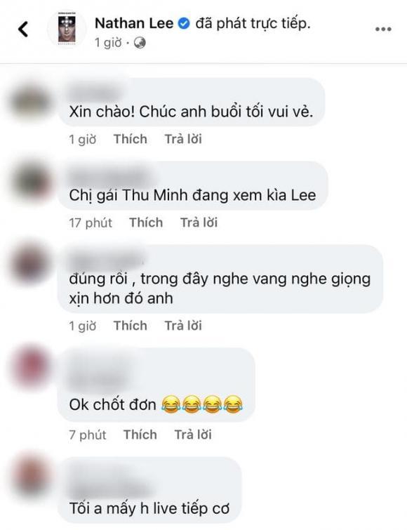Thu Minh, Nathan Lee, sao Việt
