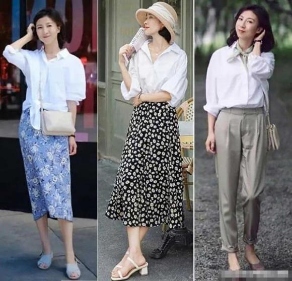 trang phục cho phụ nữ 40, trang phục hè, mặc đẹp ngày hè