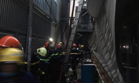 Vụ cháy 8 người tử vong, cháy nhà, hỏa hoạn