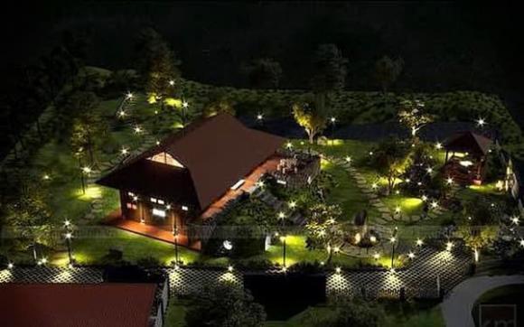 Xuân Bắc, biệt thự, resort, sao Việt, biệt phủ
