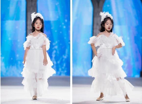 siêu mẫu Xuân Lan, con gái Xuân Lan, bé Thỏ, siêu mẫu nhí, siêu mẫu, sao Việt,