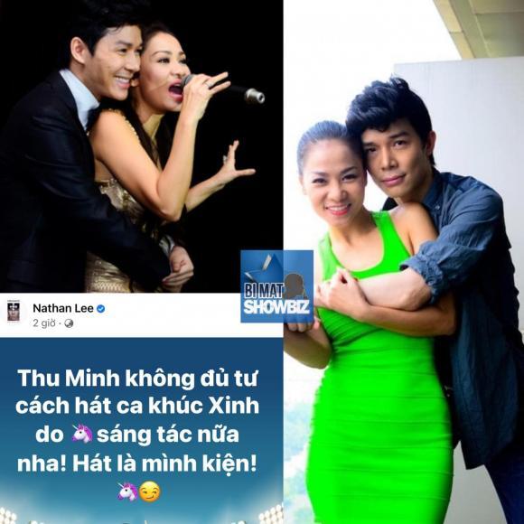 ca sĩ Nathan Lee, ca sĩ Thu Minh, sao Việt