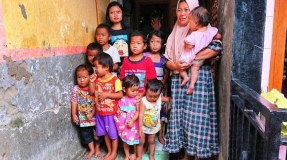 Indonesia, đẻ nhiều, đông con