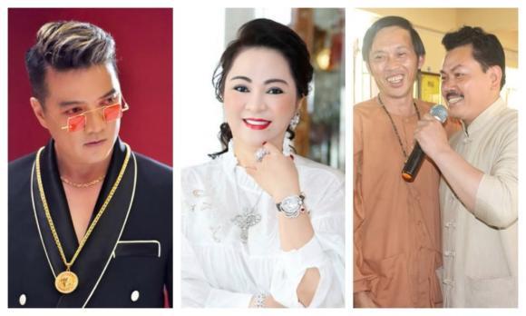 NSƯT Hoài Linh, Hứa Minh Đạt, Bà Phương Hằng, Dũng