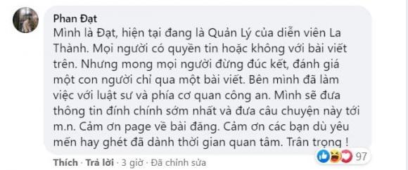 La Thành, diễn viên La Thành, sao Việt