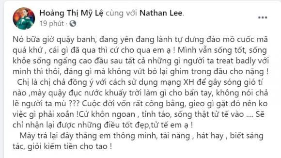 Nathan Lee, Mỹ Lệ, sao Việt