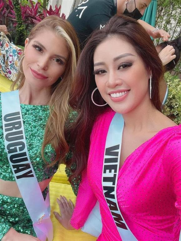 Hoa hậu Khánh Vân, Miss Universe 2020, cuộc thi Hoa hậu hoàn vũ, Khánh Vân giúp bạn, sao Việt,