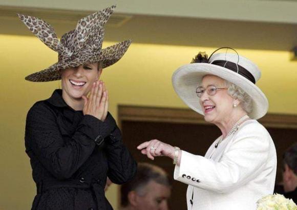 zara tindall, công chúa Anh, nữ hoàng Anh