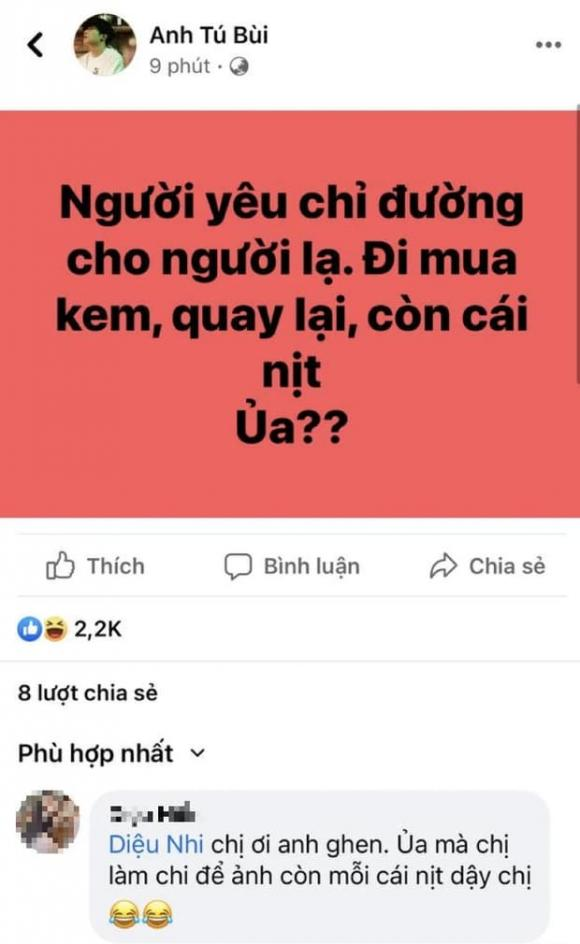 Anh Tú, Diệu Nhi, sao Việt