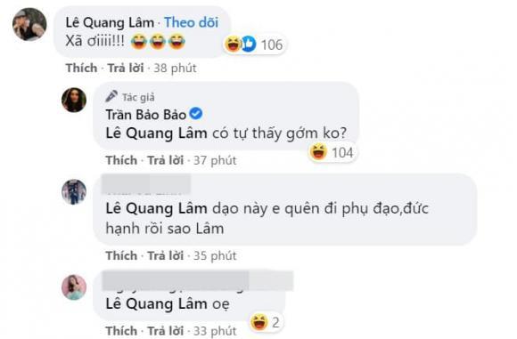 BB Trần, người yêu đồng giới của BB Trần, Lê Quang Lâm