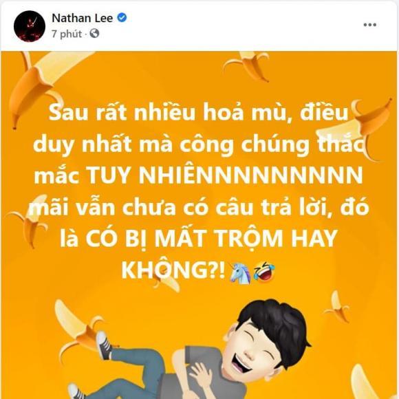 Ngọc Trinh, Nathan Lee, Mất trộm
