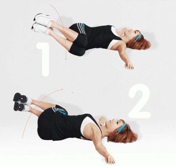 bài tập giảm cân, giảm eo, giảm mỡ bụng