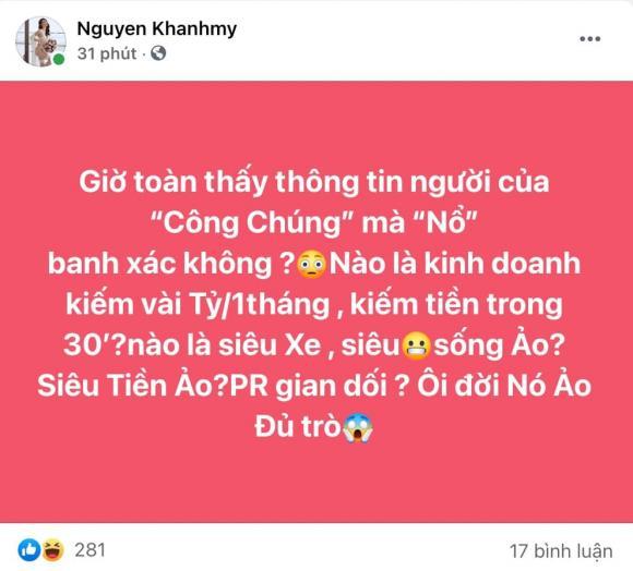 diễn viên Khánh My, nữ hoàng nội y Ngọc Trinh, sao Việt
