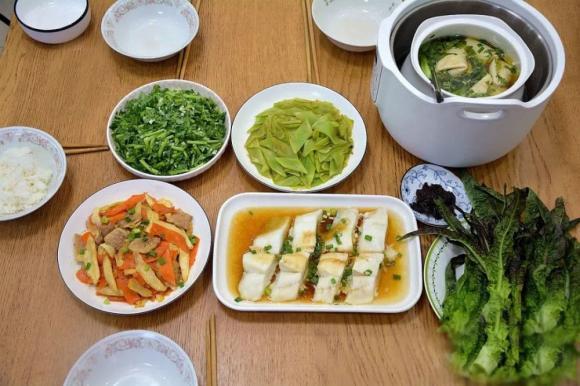 bữa tối dinh dưỡng, nấu ăn, món ngon