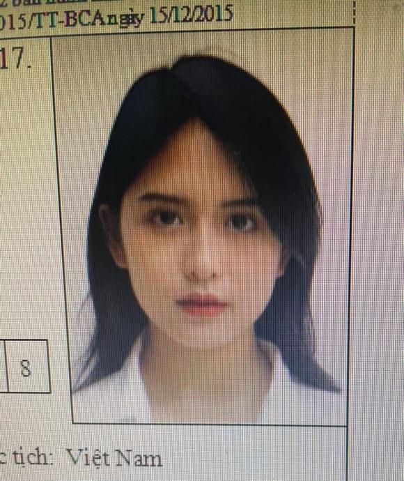 gái xinh, căn cước công dân, ảnh thẻ