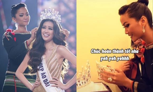 Khánh Vân, Miss Universe, clip ngôi sao
