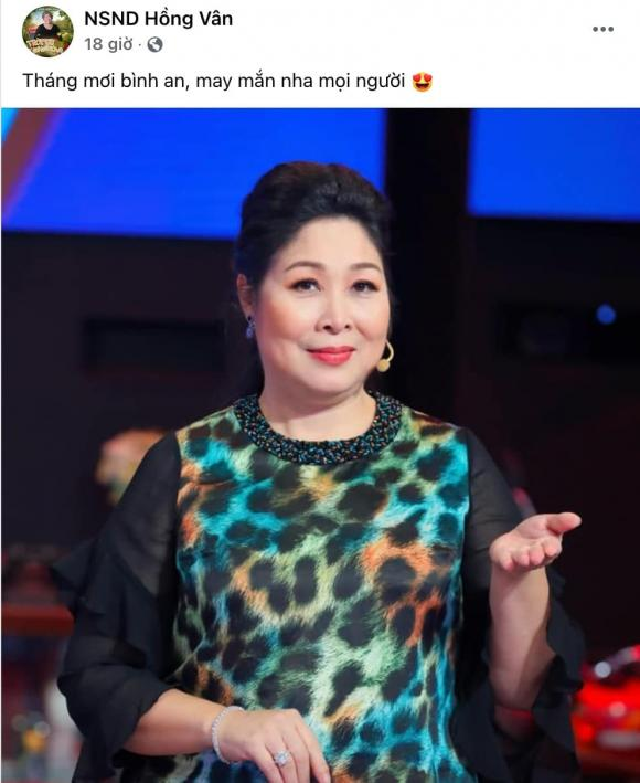 NSND Hồng Vân, vợ ông Dũng lò vôi, danh hài Hoài Linh, sao Việt