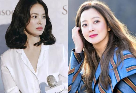 song hye kyo, kim hee sun, sao hàn