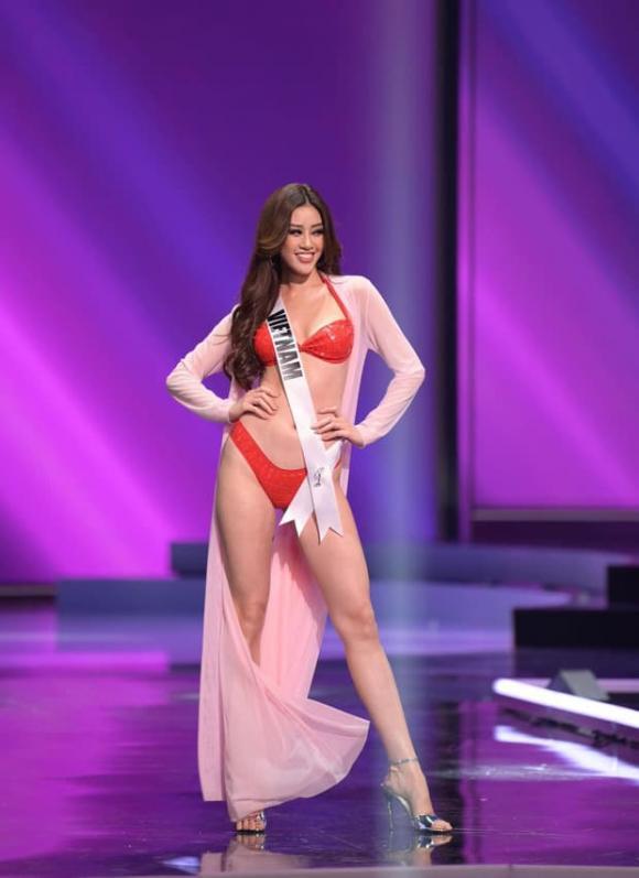 Khánh Vân, Bán kết Miss Universe, sao Việt