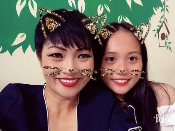 Phương Thanh, con gái, Bùi Hà Nghi Phương, bé gà, sinh nhật 16 tuổi, chị Chanh, sao Việt