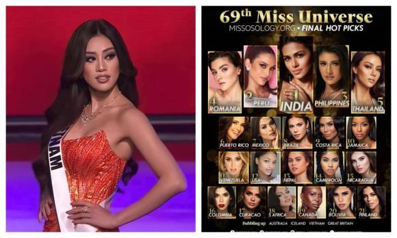 Hoa hậu Khánh Vân, Miss Universe, Khánh Vân