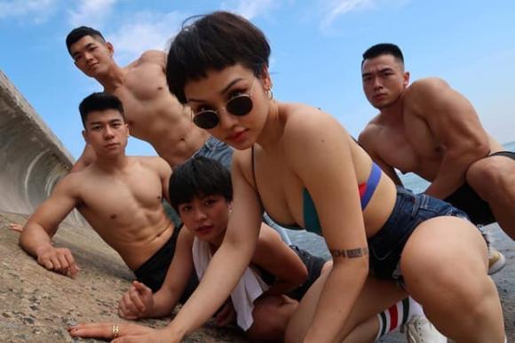Miu Lê, Karik, sao Việt, hẹn hò, gymer