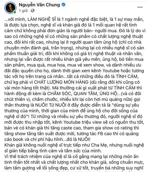 nhạc sĩ Nguyễn văn Chung, sao Việt