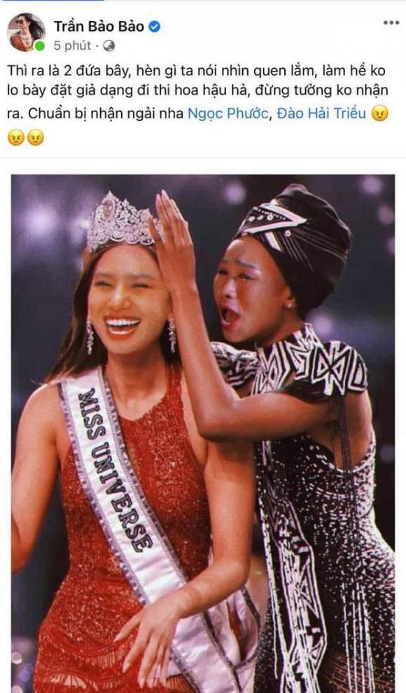 BB Trần, Miss Universe, đăng quang hoa hậu, Hải Triều, ngọc phước, cosplay, sao việt,