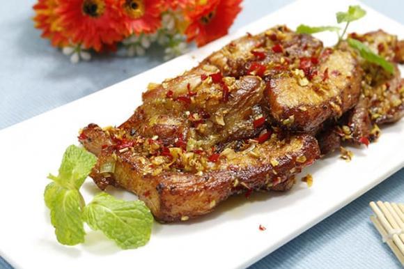 thịt heo, cách chiên thịt heo, ăn ngon