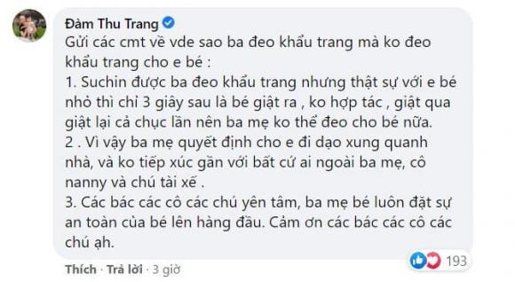 Đàm Thu Trang, Cường Đô La, con gái Cường Đô La