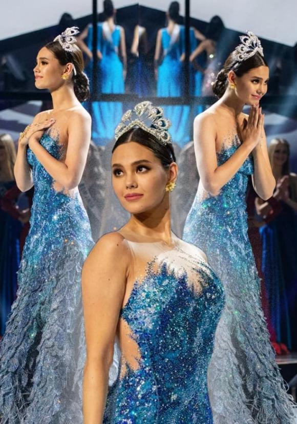 hoa hậu Catriona Gray,  hoa hậu Thái Lan Amanda Obdam, sao Việt