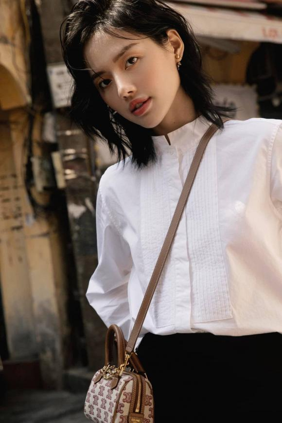 Khánh Linh, tóc mới Khánh Linh, kiểu tóc của sao việt