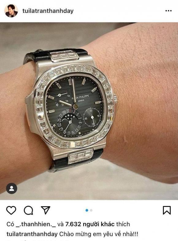 MC Trấn Thành, Đồng hồ tiền tỷ, Trấn Thành