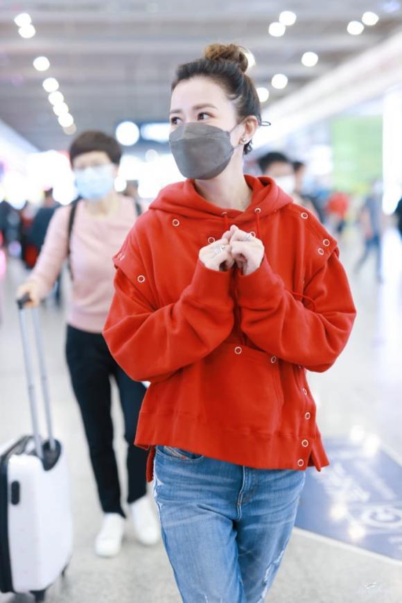 xa thi mạn, thời trang sân bay, sao hong kong