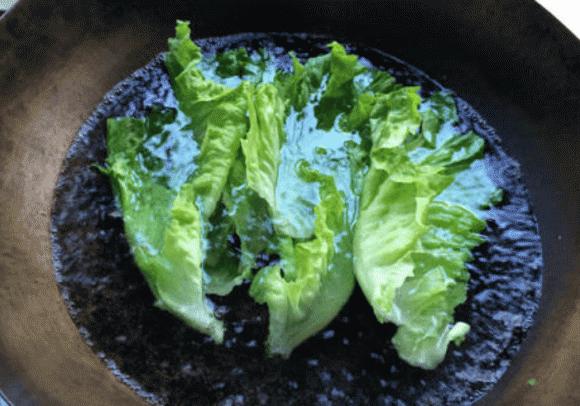 xào rau, rau xà lách, rau diếp, dạy nấu ăn