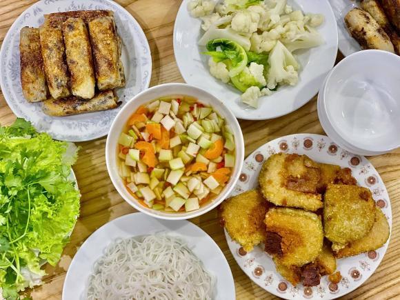 Đan Lê, Đan Lê nấu ăn, sao việt ăn gì