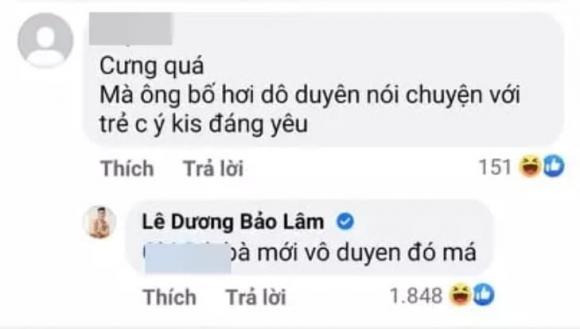 Lê Dương Bảo Lâm, diễn viên Lê Dương Bảo Lâm, sao Việt