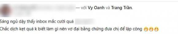 Trang Trần, Vy Oanh, bà Phương Hằng, vợ ông Dũng lò vôi