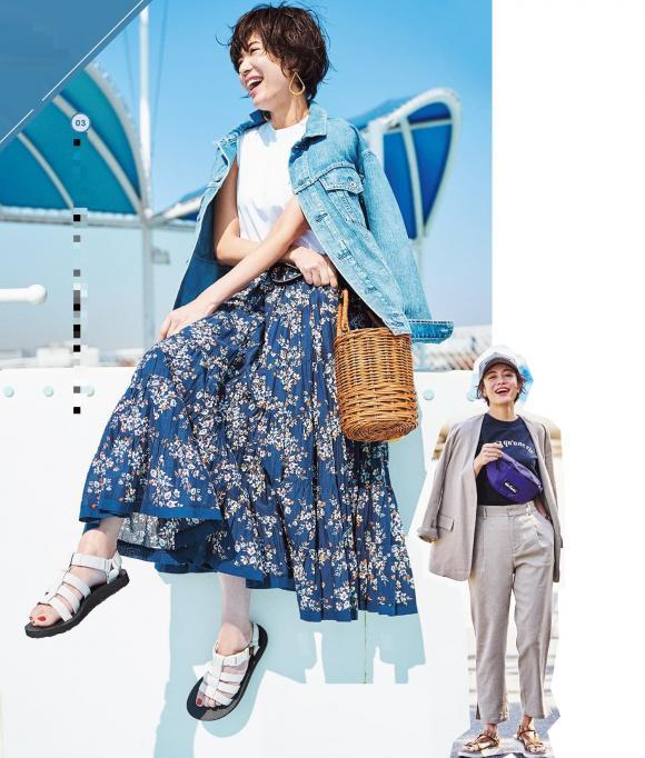 thời trang hè, thời trang đẹp, mùa hè nên mặc gì